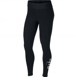 Leggings Nike Sportwear metallic negra mujer