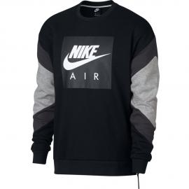 Sudadera Nike Sportwear Air Crew negro hombre