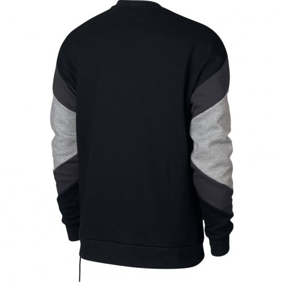 Sudadera Nike Sportwear Air Crew negro hombre - Deportes Moya a7dd3a7f5de