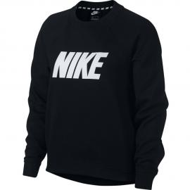 Sudadera Nike Sportwear AV15 Crew negro/blanco mujer