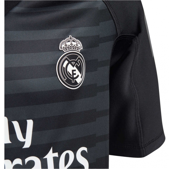 Kit Fútbol Adidas Real Madrid 2018 19 Portero Negra Junior ... 82d9e6c53be