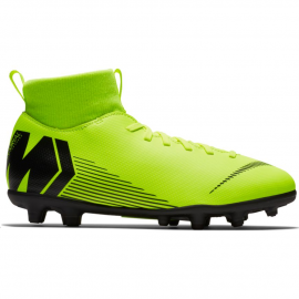Botas de fútbol Nike Jr Superfly 6 Club FG/MG fluor junior