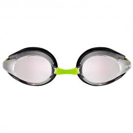 Gafas natación Arena Tracks mirror plata/negro/fluor junior