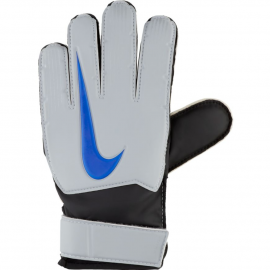 Guantes fútbol Nike Match gris/negro/azul junior