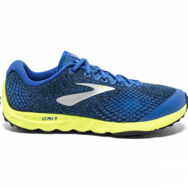 Zapatillas trail running Brooks PureGrit 7 azul/lima hombre
