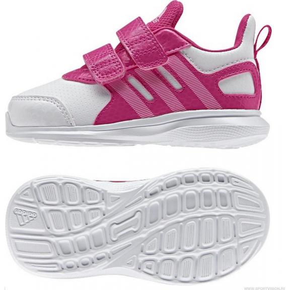 167c18fb139 Zapatillas Adidas Hyperfast 2.0 Cf I Blanco Rosa Bebe - Deportes Moya