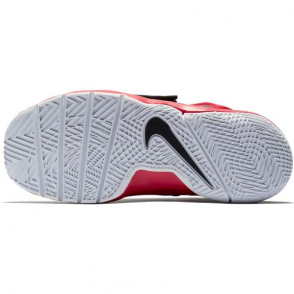 Zapatillas baloncesto Nike Team Hustle D 8 rojo negro niño ... 4965505cf2687