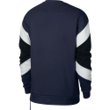 Sudadera Nike Sportwear Air Crew fleece marino/blanco hombre