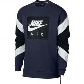 Sudadera Nike Sportwear Air Crew fleece maino/blanco hombre
