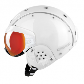 Casco SP-6 Visor Vautron blanco