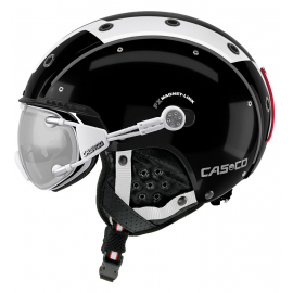 Casco SP-3 Competition negro blanco