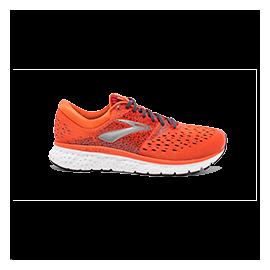 Zapatillas running Brooks Glycerin 16 naranja/rojo hombre