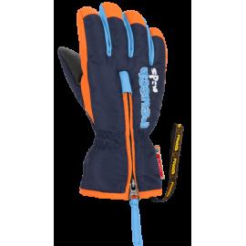 Guantes esquí Reusch Ben marino naranja bebe