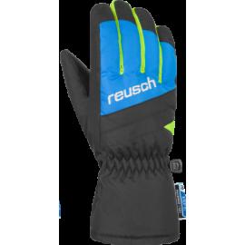 Guantes esquí Reusch Bennet R-TEX negro azul junior