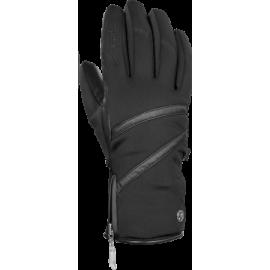 Guantes esquí Reusch Lore Stormbloxx negro plata mujer