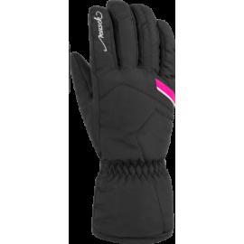 Guantes esquí Reusch Marisa negro rosa mujer