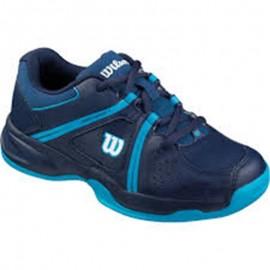 Zapatillas tenis Wilson Envy azul junior