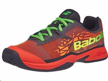 b288de2a Zapatillas padel Babolat Jet Team padel azul/naranja junior - Deportes Moya
