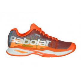 Zapatillas padel Babolat Jet Team padel naranja mujer