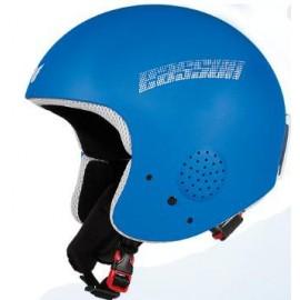 Casco esquí Eassun Apache IV azul  mate  junior