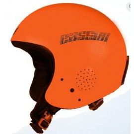 Casco esquí Eassun Apache IV naranja mate junior