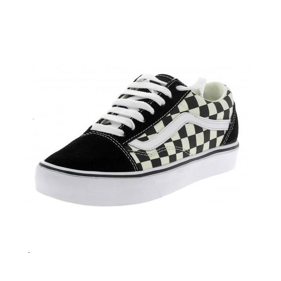 472a3a05f9ad9 Zapatillas Vans Old Skool Lite negro blanco hombre - Deportes Moya
