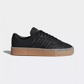 Zapatillas Adidas Sambarose negra mujer