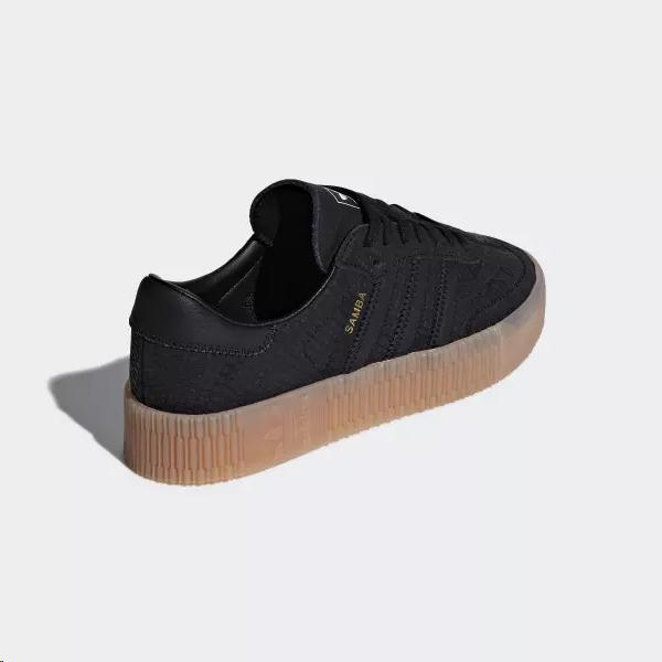 zapatillas adidas negra mujer
