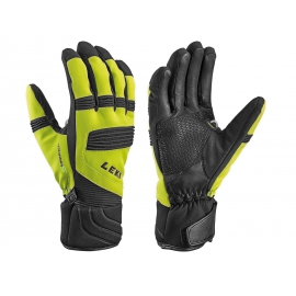 Guantes esquí Leki Elements Palladium S lime black  hombre