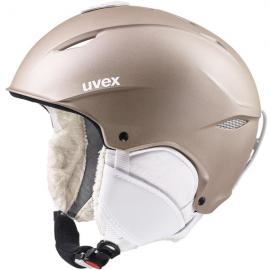 Casco esquí Uvex Primo prosecco met mat mujer