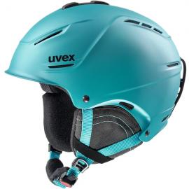 Casco esquí Uvex P1us 2.0 petrol mat unisex