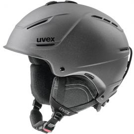 Casco esquí Uvex P1us 2.0 gun metal unisex