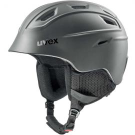 Casco esquí Uvex Fierce negro mate unisex
