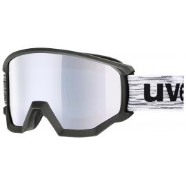 Máscara Uvex Athletic FM negro mate S3 unisex