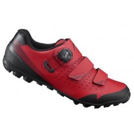 Zapatillas Shimano ME400 Mtb rojo hombre