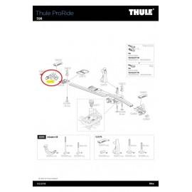 Soporte Rueda Thule Proride 598