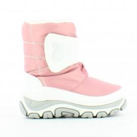 Botas apreski Mk Import F-0208 rosa niña