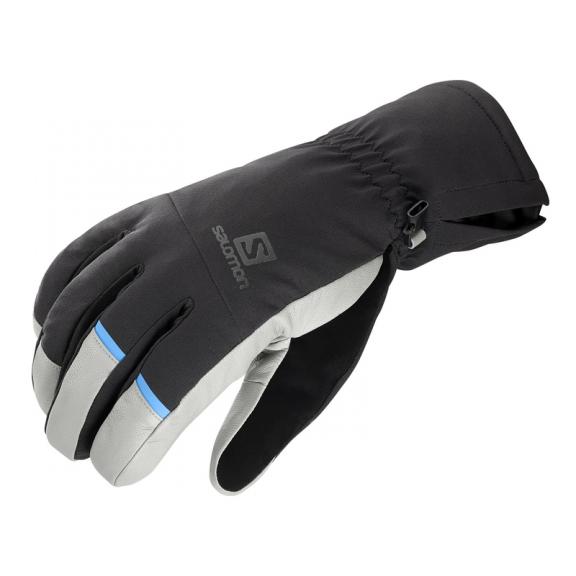 calidad de marca descubre las últimas tendencias oficial de ventas calientes Guantes Esquí Salomon Propeller Dry M Negro Gris