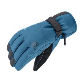 Guantes esqui Salomon Force Dry M negro azul hombre