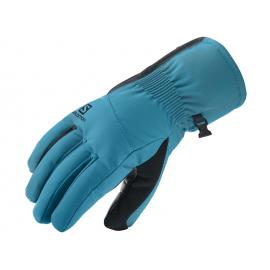 Guantes esquí Salomon Propeller Dry W azul negro
