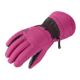 Guantes esquí Salomon Force W rosa mujer