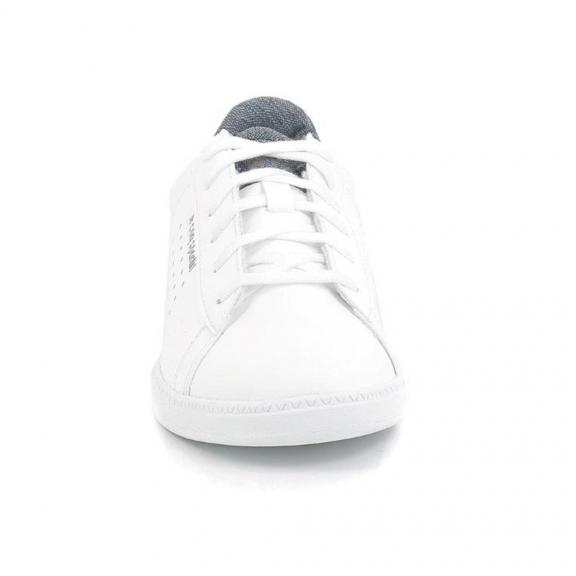 Zapatillas Le Coq Sportif Courtset Craft (GS) blanca junior