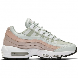 best service a1e03 3a8d0 Zapatillas Nike Air Max 95 gris rosa mujer