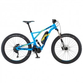 "Bicicleta GT 19 E-Verb Current 27,5"" Azul"