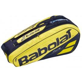 Raquetero Babolat Pure Aero Rh X 6 2019 amarillo/negro