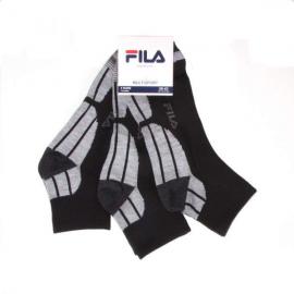 Calcetines Fila F1615 Pack 3 negro unisex