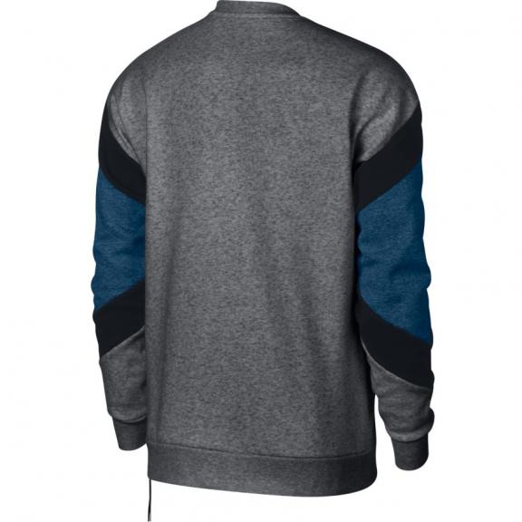 1143530e6daea Sudadera Nike Sportwear gris negro azul hombre - Deportes Moya
