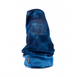 Cuello doble esqui montaña +8000 azul unisex