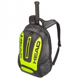 Mochila tenis head Tour Team Extreme negro/fluor