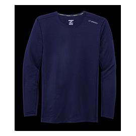 Camiseta running Brooks Ghost azul hombre